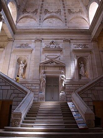 Victor Louis - Image: Grand escalier de l'opéra de Bordeaux