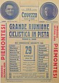 Grande riunione ciclistica in pista - velodromo di Cavezzo - 29 aprile 1934.jpg