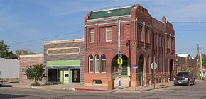 Grant, Nebraska NE corner 3rd and Central from SW 1.JPG