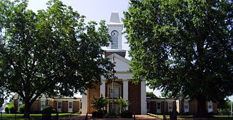 Grant County, Arkansas - Image: Grant County Courthouse, Sheridan, Arkansas