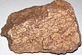 Graphic granite (runite) (Eight Mile Park Pegmatite District, Mesoproterozoic, 1.430 to 1.474 Ga; roadcut along 3A Road, north of Royal Gorge Bridge, west of Canon City, south-central Colorado, USA) 5 (48751181673).jpg