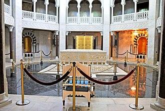 Bourguiba mausoleum - Inside the mausoleum