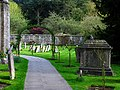 Graveyard at the Church in Bibury - geograph.org.uk - 161876.jpg
