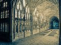 Great Cloister, Gloucester cathedral (16460878076).jpg