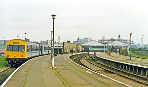 Great Yarmouth railway station - Great Yarmouth railway station in 1993