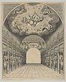 Great hall, from 'Éloges et discours sur la triomphante réception du Roy en sa ville de Paris ...' by Jean-Baptiste de Machault MET DP855541.jpg