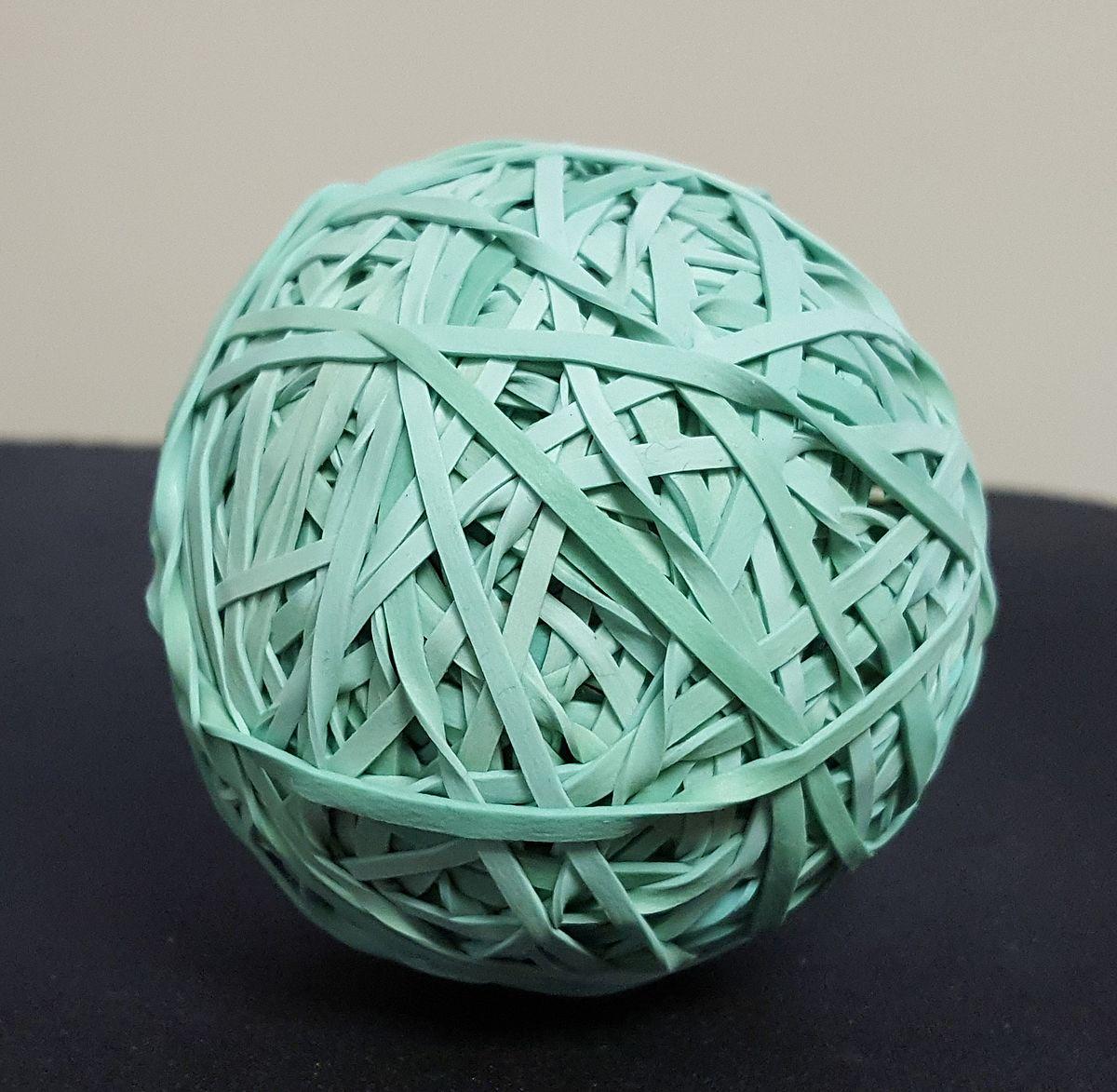 Rubber band ball - Wikipedia
