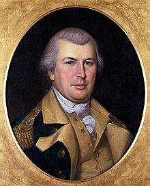 A portrait of American General Nathanael Greene