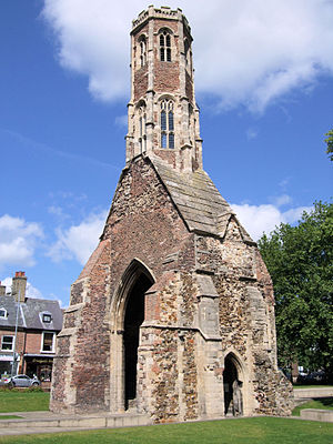 Greyfriars Tower is the last significant remai...