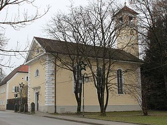 Großkarolinenfeld - Protestant church