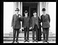 Group at White House; Charles Dawes, left; Robert P. Lamont, right. Washington, D.C. LCCN2016891406.jpg