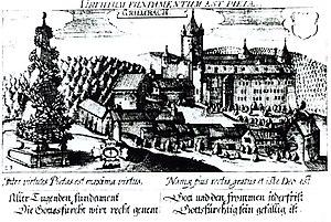 Grumbach Castle in 1627