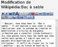Guide de Wikipédia - 3.FP5.01 bac à sable.png