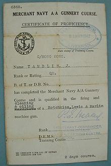 British merchant seamen of World War II - Wikipedia