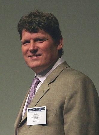 Gunther Eysenbach - Eysenbach in 2009