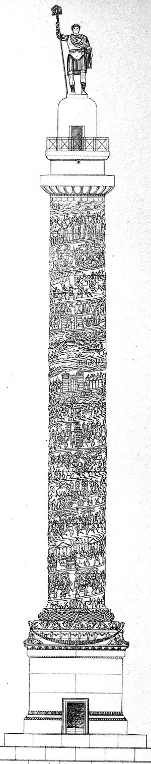 Column of Arcadius - Reconstruction of the column of Arcadius