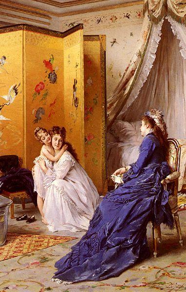 File:Gustave Léonard de Jonghe - Apres Le Bain.jpg