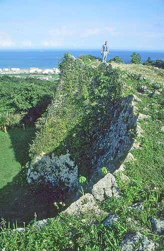 History of the Ryukyu Islands - Gusuku wall