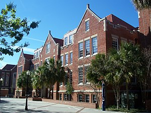 National Register of Historic Places listings in Alachua County, Florida - Image: Gville UF Anderson 02