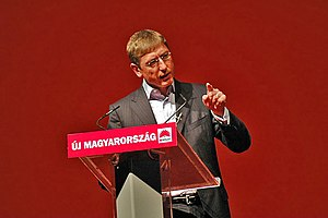 Őszöd speech - Ferenc Gyurcsány speaking at a party congress on 2 September 2006