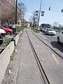 HÉV R line, rail track, Kerepesi út, 2018 Zugló.jpg