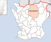 Hässleholm Municipality in Scania County.png