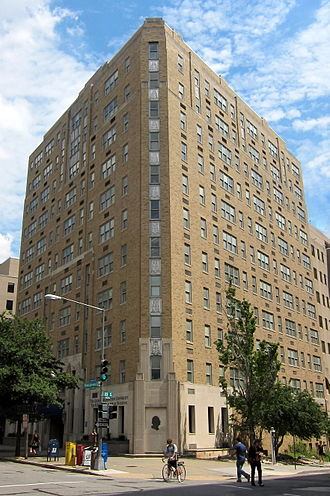 George Washington University School of Medicine & Health Sciences - H. B. Burns Memorial Building - corner