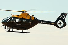 An Airbus H145 Jupiter of the Defence Helicopter Flying School.