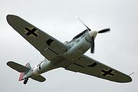 HA-1112-M1L Buchon C4K-102 flying.jpg