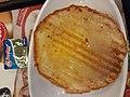 HK 大家樂 Cafe design Carol Fast Food Restaurant 下午茶餐 afternoon tea meal 朱仔包 bread 奶油 butter milk 炸菜米粉湯 rice noodle soup December 2019 SS2 01.jpg