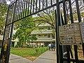 HK 油麻地 Yau Ma Tei 九龍華仁書院 Kowloon Wah Yan College back door Jan-2014 warning No Entry sign.JPG