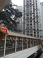 HK 西半山區 Mid-levels 羅便臣道 Robinson Road footbridge 輝煌臺 Fairview Heights March-2011.JPG