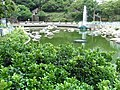HK Chai Wan Park green water pool n fountain Sept-2012.JPG