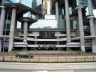 Lippo Centre (Hong Kong) - Lippo Centre Front View
