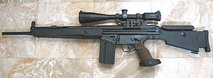 Heckler & Koch SR9 - HK SR9T rifle