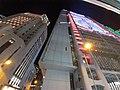 HK Tram 129 view 灣仔 Wan Chai 金鐘 Admiralty 中環 Des Voeux Road Central HSBC SCBank 上環 Sheung Wan night November 2019 SS2 04.jpg