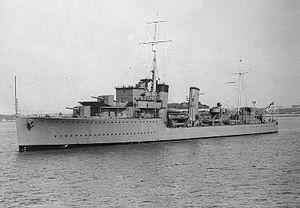 HMS Kempenfelt (I18) - Image: HMS Kempenfelt (I18)