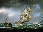 HMS Warrior off the mouth of the River Tagus.jpg