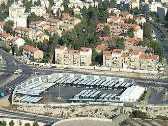 Egged (company) - Egged bus depot, Kiryat Moshe, Jerusalem