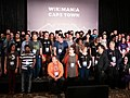 Hackathon Group Photo, Wikimania 2018,Cape Town (P1050650).jpg