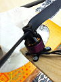 Hacker A10-13L Brushless Motor with Strapped-on Propeller.jpg