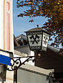 Hackerbräu 1417 Lantern, Oberammergau, Bavaria, Germany.jpg