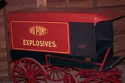 Original DuPont powder wagon