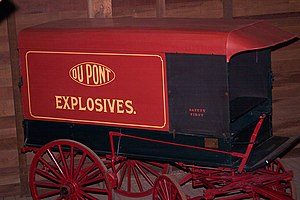 Eleutherian Mills - Original DuPont powder wagon