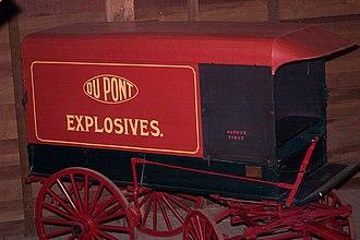 Eleutherian Mills - Original DuPont powder wagon