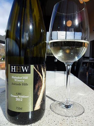 Grüner Veltliner - An Australian Gruner from Hahndorf Hill Winery in the Adelaide Hills
