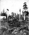 Haida graves and totem poles, Kasaan, Alaska, circa 1900 (AL+CA 6798).jpg
