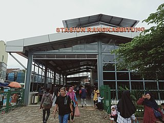 Rangkasbitung railway station railway station in Indonesia