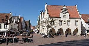 Haltern am See - Image: Haltern am See, Alte Rathaus Dm 2 in straatzicht foto 4 2015 04 20 13.52