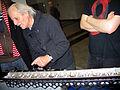 Hannoversches Modell 2005 der Leibnizschen Vier-Spezies-Rechenmaschine, Konstrukteur Dr. Ing. Franz Otto Kopp, Die Nacht, die Wissen schafft 2012.jpg